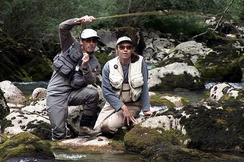 Une belle partie de pêche en Montagne
