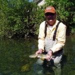 Guide de pêche sur le Gave