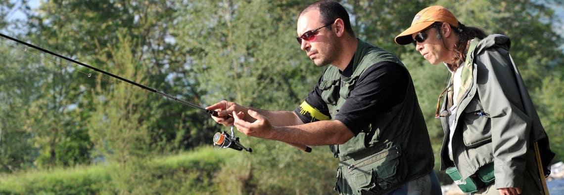 Pêche au toc dans les Pyrénées-Atlantiques